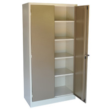 Steel Stationery Cabinet with 4 Adjustable Shelves