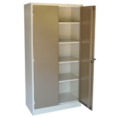 2 Door Steel Stationery Cabinet with Additional Options ...