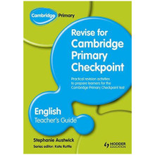 Cambridge Revise for Primary Checkpoint English Teacher's Guide - ISBN 9781444178319