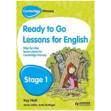 Cambridge Primary Ready to Go Lessons for English Stage 1 - ISBN 9781444177107