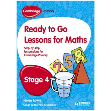 Ready to Go Lessons for Mathematics Stage 4 Cambridge Primary - ISBN 9781444177619