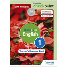 Cambridge Checkpoint English Teacher's Resource Book 1 - ISBN 9781444143898