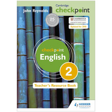Cambridge Checkpoint English Teacher's Resource Book 2 - ISBN 9781444143904