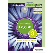 Cambridge Checkpoint English Teacher's Resource Book 3 - ISBN 9781444143911