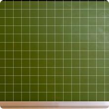 Economy Enamel Chalk Board with Squares