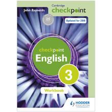 Cambridge Checkpoint English Workbook 3 - ISBN 9781444184464