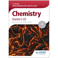Cambridge International AS and A Level Chemistry Teacher's CD - ISBN 9781444181357