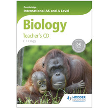 Cambridge International AS and A Level Biology Teacher's CD - ISBN 9781444181425