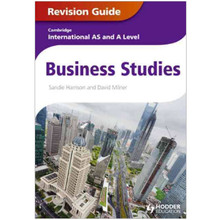 Cambridge International AS and A Level Business Revision Guide - ISBN 9781444192032