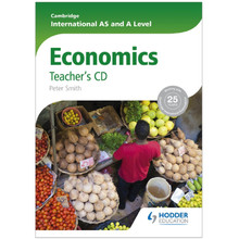 Cambridge International AS and A Level Economics Teacher's CD - ISBN 9781444181388