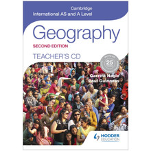 Cambridge International AS & A Level Geography Teacher's CD (2nd Edition) - ISBN 9781471873799