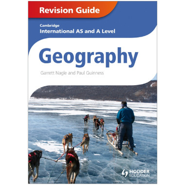 Cambridge International AS & A Level Geography Revision Guide - ISBN 9781444181487