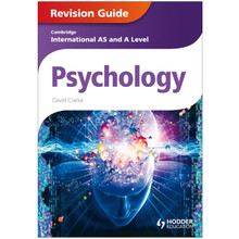 Cambridge International AS and A Level Psychology Revision Guide - ISBN 9781444181456