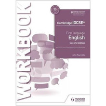 Hodder Cambridge IGCSE First Language English Workbook 2nd Edition - ISBN 9781510421325