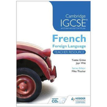 Cambridge IGCSE French Teacher Resource & Audio-CDs - ISBN 9781444180985