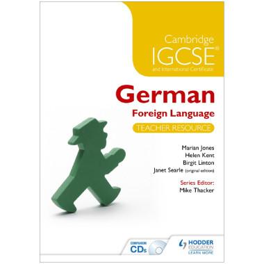 Cambridge IGCSE® German Foreign Language Teacher Resource & Audio-CDs - ISBN 9781471833076