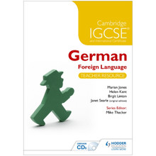 Cambridge IGCSE® German Foreign Language Teacher Resource & Audio-CDs - ISBN 9781471833076