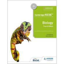 Hodder Cambridge IGCSE™ Biology 4th Edition - ISBN 9781398310452