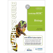 Hodder Cambridge IGCSE™ Biology Teacher's Guide with Boost Subscription Booklet - ISBN 9781398310476