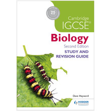 Cambridge IGCSE Biology Study & Revision Guide 2nd Edition - ISBN 9781471865138