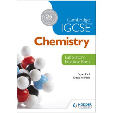 Cambridge IGCSE Chemistry Laboratory Practical Book - ISBN 9781444192209