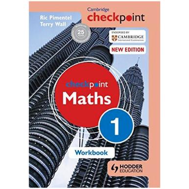 Cambridge Checkpoint Mathematics Workbook 1 - ISBN 9781444144017