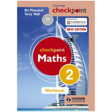 Cambridge Checkpoint Mathematics Workbook 2 - ISBN 9781444144031