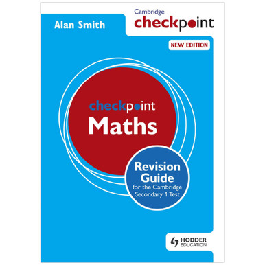 Checkpoint Mathematics Revision Guide for Cambridge Secondary 1 Test - ISBN 9781444180718