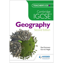 Cambridge IGCSE Geography Teacher's CD - ISBN 9781471807299