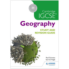 Cambridge IGCSE Geography Study and Revision Guide - ISBN 9781471874055