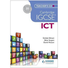 Cambridge IGCSE ICT Teacher's CD - ISBN 9781471807237