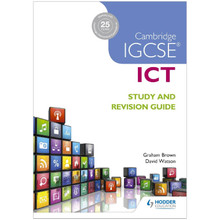 Cambridge IGCSE ICT Study and Revision Guide - ISBN 9781471890338