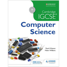 Cambridge IGCSE Computer Science Student Book - ISBN 9781471809309