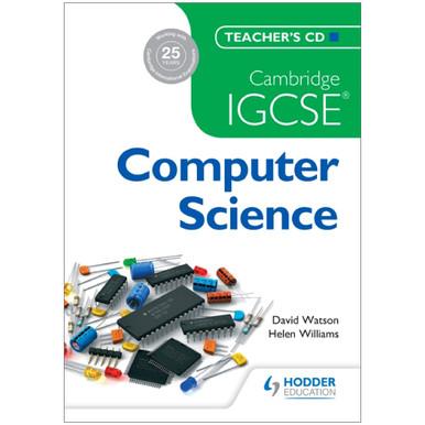 Cambridge IGCSE Computer Science Teacher's CD - ISBN 9781471809316