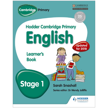 Hodder Cambridge Primary English: Learner's Book Stage 1 - ISBN 9781471831003
