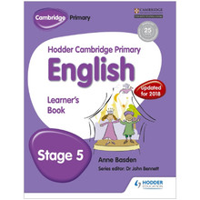 Hodder Cambridge Primary English: Learner's Book Stage 5 - ISBN 9781471830761