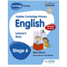 Hodder Cambridge Primary English: Learner's Book Stage 6 - ISBN 9781471830204