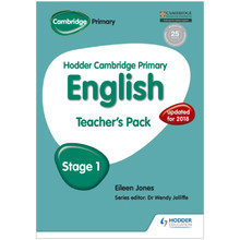 Hodder Cambridge Primary English: Teacher's Pack Stage 1 - ISBN 9781471831010