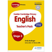 Hodder Cambridge Primary English: Teacher's Pack Stage 3 - ISBN 9781471830983