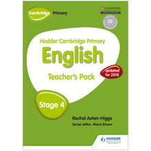 Hodder Cambridge Primary English: Teacher's Pack Stage 4 - ISBN 9781471830273