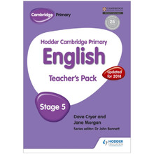 Hodder Cambridge Primary English: Teacher's Pack Stage 5 - ISBN 9781471830952