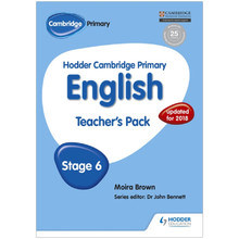 Hodder Cambridge Primary English: Teacher's Pack Stage 6 - ISBN 9781471830228