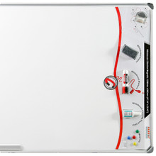 SLIMLINE Magnetic Whiteboard with Retail Pack