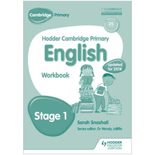 Hodder Cambridge Primary English: Workbook Stage 1 - ISBN 9781471831027