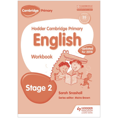 Hodder Cambridge Primary English: Workbook Stage 2 - ISBN 9781471830242