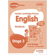 Hodder Cambridge Primary English: Workbook Stage 3 - ISBN 9781471830990