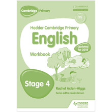 Hodder Cambridge Primary English: Workbook Stage 4 - ISBN 9781471830280