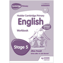 Hodder Cambridge Primary English: Workbook Stage 5 - ISBN 9781471830969