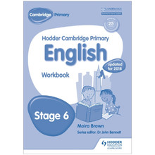 Hodder Cambridge Primary English: Workbook Stage 6 - ISBN 9781471830235