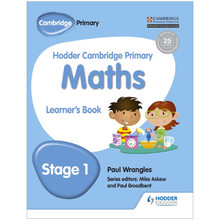 Hodder Cambridge Primary Maths: Learner's Book Stage 1 - ISBN 9781471884313